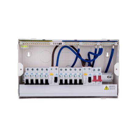 BG CFUDP16610 Amendment 3 10 Way Dual RCD Consumer Unit and 10 MCB'S