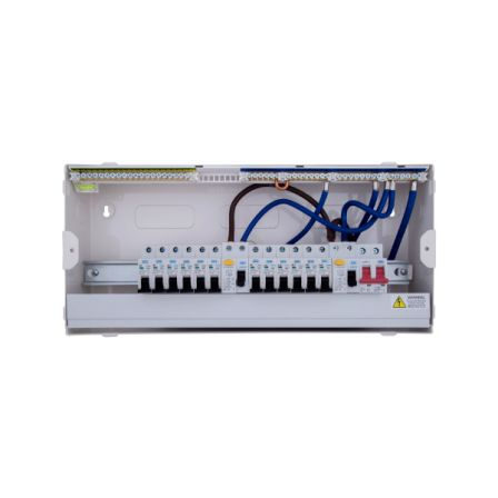 BG CFUDP16616 Amendment 3 16 Way Dual RCD Consumer Unit and 12 MCB'S