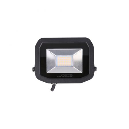 BG Luceco LFS12B150-02 15W Black Slimline Guardian LED Floodlight Daylight
