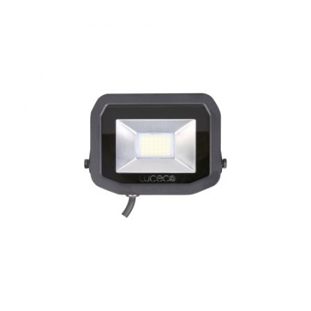 BG Luceco LFS18B150-02 22W Black Slimline Guardian LED Floodlight Daylight