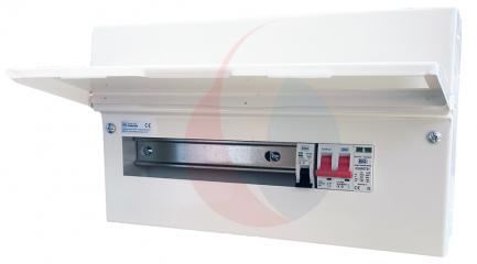 BG CFUSW12SPD 18th Edition 12 Way Consumer Unit c/w 100A Main Switch, SPD & 32A MCB