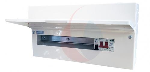 BG CFUSW15SPD 18th Edition 15 Way Consumer Unit c/w 100A Main Switch, SPD & 32A MCB