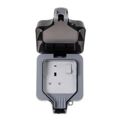 BG Nexus Storm WP21 1 Gang 13A DP Switched Socket Weatherproof