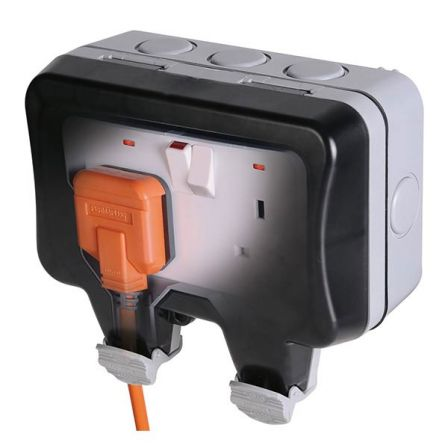 BG Nexus Storm WP22 2 Gang 13A DP Switched Socket Weatherproof