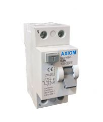 CED Axiom 63A DP 30mA RCD 2 Pole
