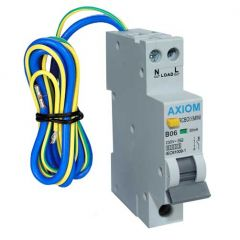 CED Axiom 6A 30mA Compact RCBO SP Type B