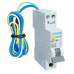 CED Axiom 20A 30mA Compact RCBO SP Type B