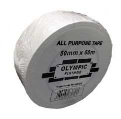 White All Purpose Duct Tape 50mm x 50 meter