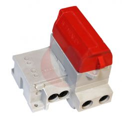 Series 7 Main Head Cut Out 100A SPN with Red Solid Link Carrier