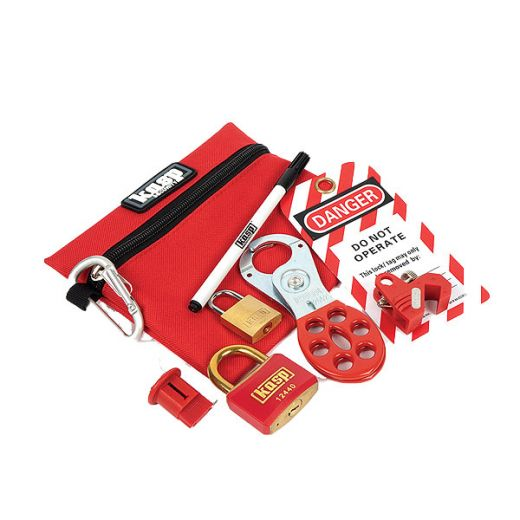 Safety Lockout Kits for electricians | PEC Lights