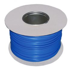 PVC Sleeving 3mm Blue 100m