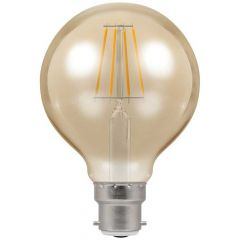 Crompton 4269 5W BC/B22 G80 LED Filament Antique Dimmable Lamp