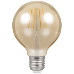 Crompton 4276 5W ES/E27 G80 LED Filament Antique Dimmable Lamp