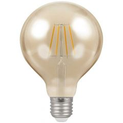 Crompton 4290 5W ES/E27 G95 LED Filament Antique Dimmable Lamp