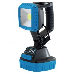 Draper 90032 10 Watt COB LED Rechargeable Worklight Blue