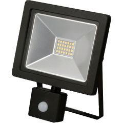 Emco LSF20P 20W Black Slimline PIR LED Floodlight