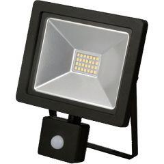 Emco LSF20P 20W Black Slimline PIR LED Floodlight