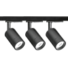 Enlite EN-TKGK2BLK Trac Kit 1m Short Form GU10 Single Circuit Black