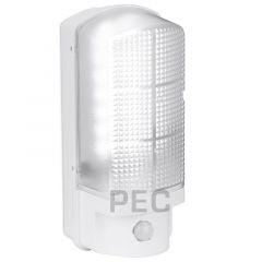 Aurora EN-BH7PIRW/40 UtiliteX 7W PIR Sensor IP44 LED Security Bulkhead White