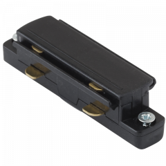 Aurora #GB21-2 Trac Global Straight Connector Single Circuit Black