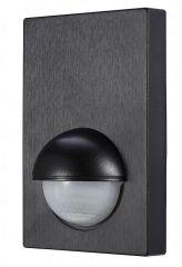 Forum Zinc Alia 180 Degree Wall PIR Sensor Black