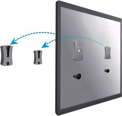 Link2Home Fixed Space Saver TV Wall Mount Bracket