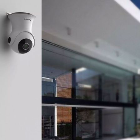 Link2Home Smart WiFi Outdoor Security Camera with Pan & Tilt