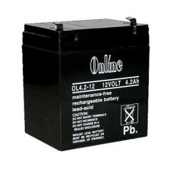 12V 4.2AH Sealed Lead Acid Battery