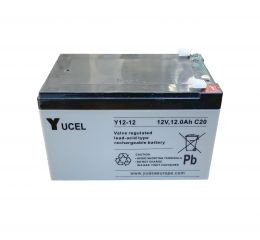 Yucel 12V 12.0AH Sealed Lead Acid Battery