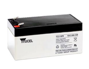 Yucel 12V 3.2AH Sealed Lead Acid Battery