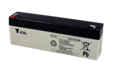 Yucel 12V 2.1AH Sealed Lead Acid Battery