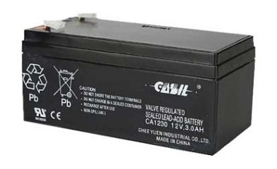 12V 3.0AH Sealed Lead Acid Battery