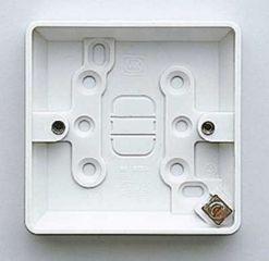 MK Logic Plus K2160WHI 1 Gang 16mm Surface Box