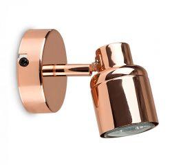 Minisun 19889 Benton Adjustable Spotlight Copper