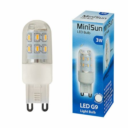 MiniSun 19869 Mini High Power 3W G9 LED Capsule Daylight
