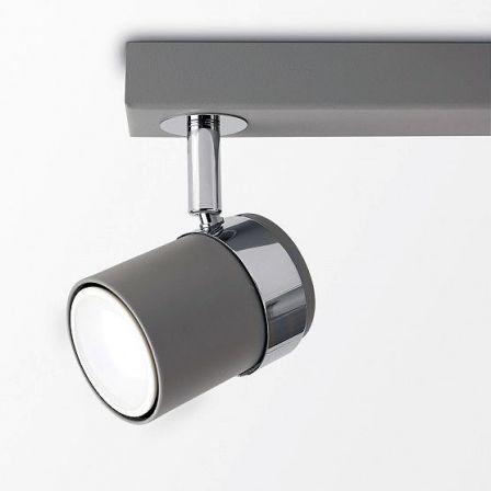 Minisun 21730 Rosie Adjustable 3 Way Bar Spotlight Cement
