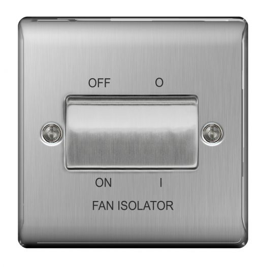 Fan Isolator Switches for use with Extractor Fans