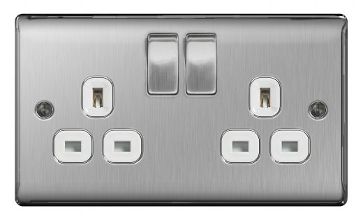 BG Nexus Metal Decorative Switches & Sockets