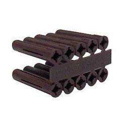 Olympic Brown Wall Plugs Per 100