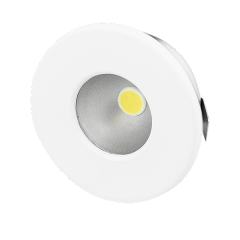 Ovia Nova OV204DLWH LED Recessed Convex Starlight IP44 12V White
