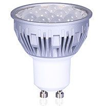 Pecstar 5 Watt Bubble GU10 LED Dimmable Warm White 2700K