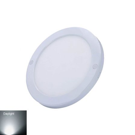 Haylo SlimLED Surface Mounted Round Panel 28 Watts Warm White