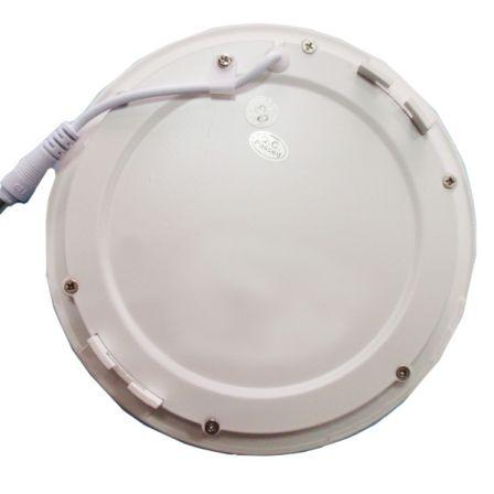 Pecstar 18W Round Slimline LED Panel Downlight Daylight