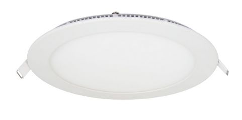 Pecstar 12W Round Slimline LED Panel Downlight Warm White