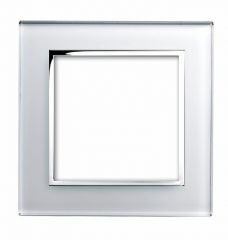 Retrotouch 00172 2 Gang Module Plate White CT