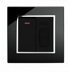 Retrotouch 01705 13A Fused Spur Switched Black CT