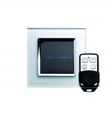 Retrotouch 00005 2 Gang Touch & Remote Light Switch 2 Way/Int White CT