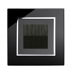 Retrotouch 04098 Brush Plate Black CT