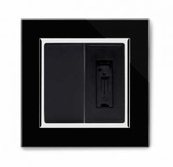 Retrotouch 04322 13A Fused Spur Un-Switched Black CT