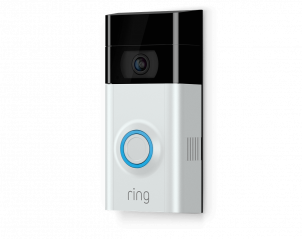 Ring Video Doorbell 2 Next Level Home Security with Built-in Wi-Fi & Camera